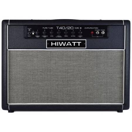 HIWATT T40/20 AMPLIFICADOR DE GUITARRA VÁLVULAS