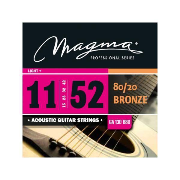 MAGMA GA130P JUEGO DE CUERDAS DE GUIT. ACÚSTICA