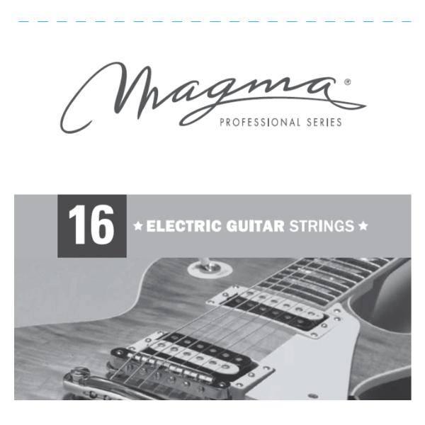 MAGMA GE016 CUERDA GUITARRA ELÉCTRICA 016
