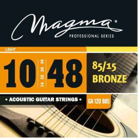 MAGMA GA120B85 JUEGO DE CUERDAS DE GUIT. ACÚSTICA