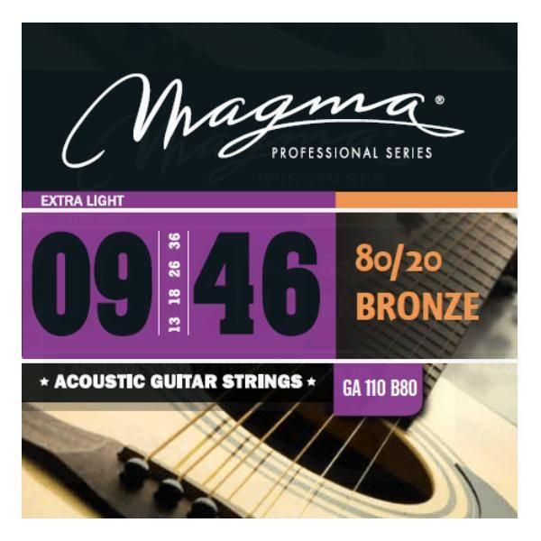 MAGMA GA100B80 JUEGO DE CUERDAS DE GUIT. ACÚSTICA