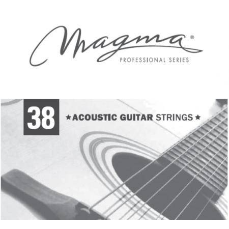 MAGMA GA038PB CUERDA GUITARRA ACÚSTICA 038