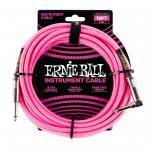 ERNIE BALL 6083 CABLE INSTRUMENTO 5.49M CODO PINK