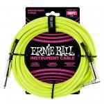 ERNIE BALL 6085 CABLE INSTRUMENTO 5.49M CODO YELLO