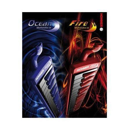 Melódica Hohner Fire/Ocean Azul