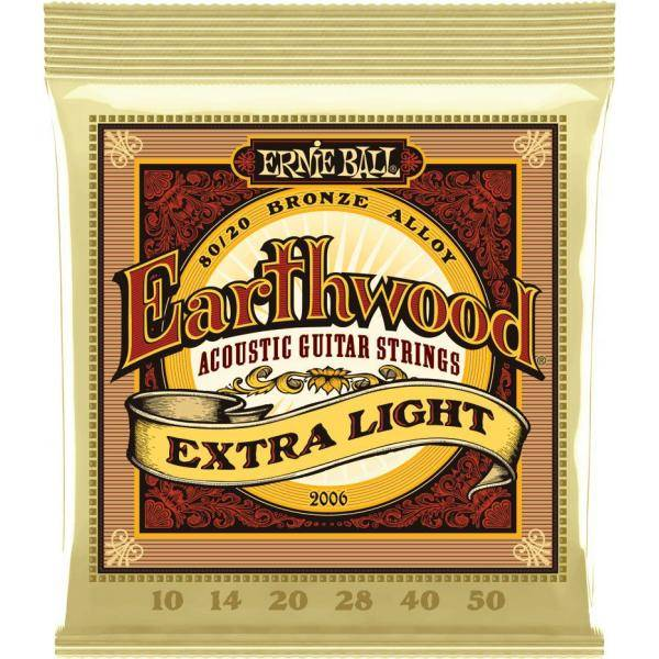 ERNIE BALL EB2006 EARTHWOOD BRONZE CUERDAS GUITAR