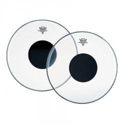 PARCHE REMO CONTROLLED SOUND CLEAR BLACK DOT 13""