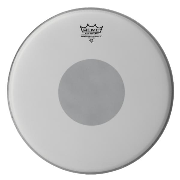 """PARCHE REMO CONTROLLED SOUND-X COATED BLACKDOT 12"""""""
