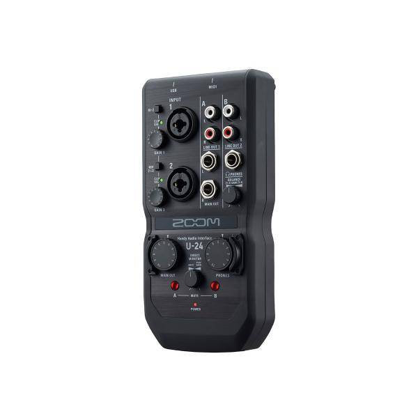 ZOOM U24 AUDIO CONVERTER 2IN 4OUT INTERFACE