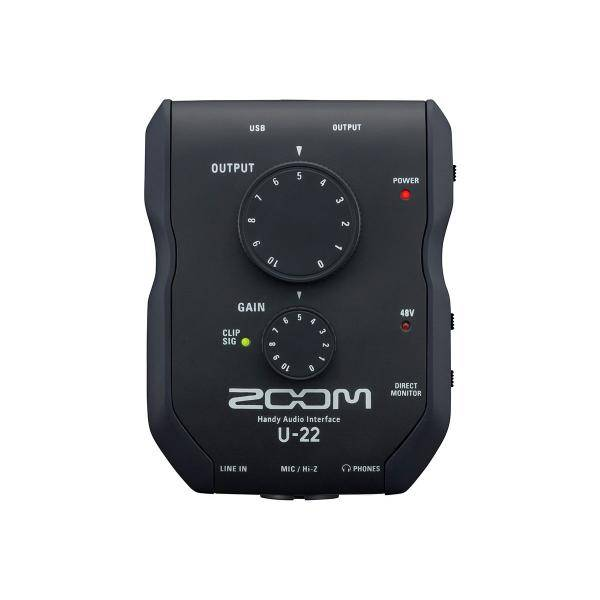 ZOOM U-22 AUDIO CONVERTER 2IN/2OUT