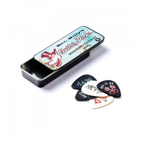 Lata 6 Púas Dunlop Reverend Willy RW-T03H