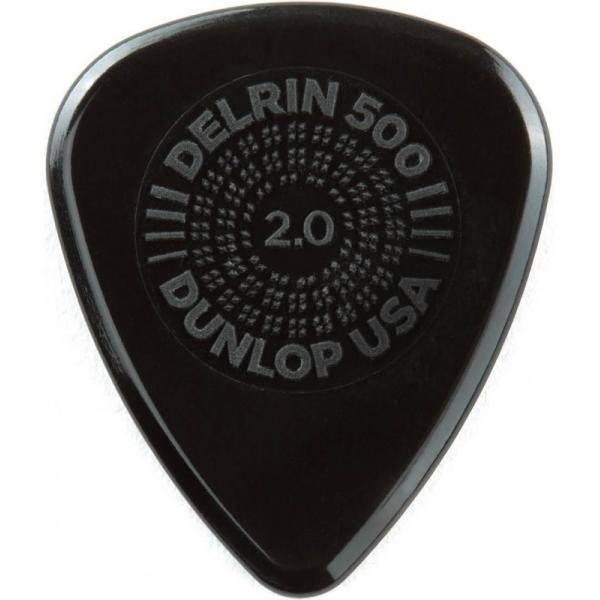 Bolsa 12 Púas Dunlop 450P-200 Prime Grip Delrin 500 2.00mm