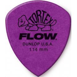 Bolsa 12 Púas Dunlop 558P-114 Tortex Flow Standard 1.14mm