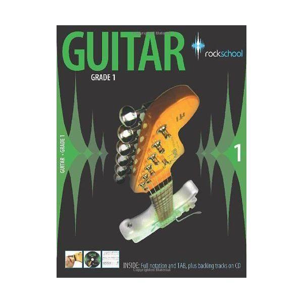 LIBRO ROCKSCHOOL GUITAR GRADE 1 (2006-2012) + CD