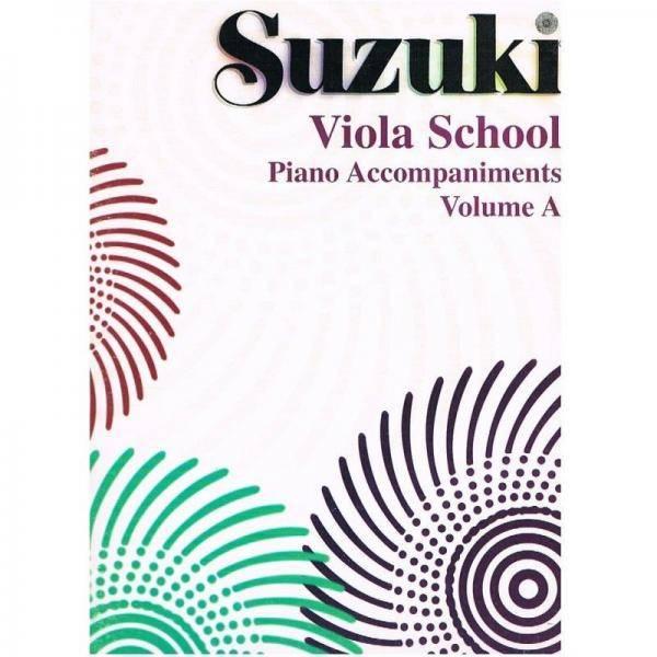 SUZUKII VIOLA ACOMPAÑAMIENTO PARA PIANO VOL 1-2