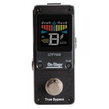 AFINADOR ON STAGE GTP7000 MINI PEDAL TUNER