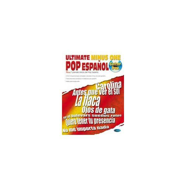 ULTIMATE POP ESPAÑOL TABLATURA + CD MINUS ONE CARI