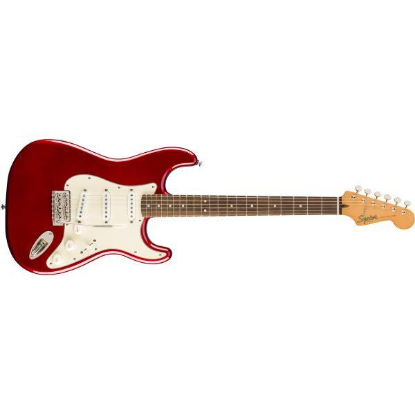 SQUIER CV 60S STRATOCASTER LRL CANDY APPLE RED