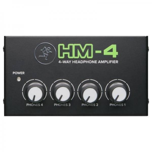 MACKIE HM4 AMPLIFICADOR DE AURICULARES 4 CANALES