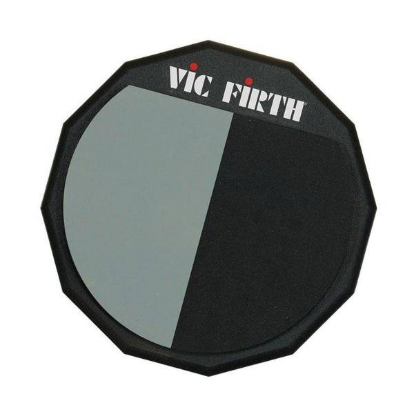 VIC FIRTH PAD12H 12 PAD DOBLE SUPERFICIE