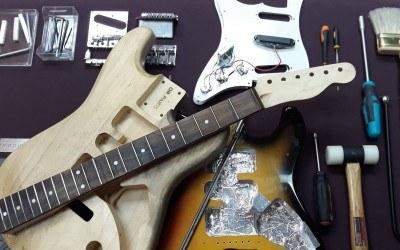 Lista de herramientas necesarias para ajustar tu guitarra