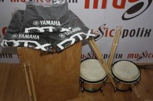 Cajón y bongos Memphis