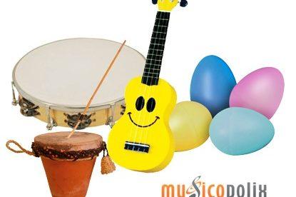 Instrumentos navideños Musicopolix