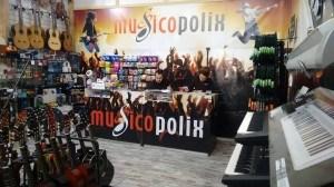 Tienda de Instrumentos Musicales Musicopolix online y venta en tienda