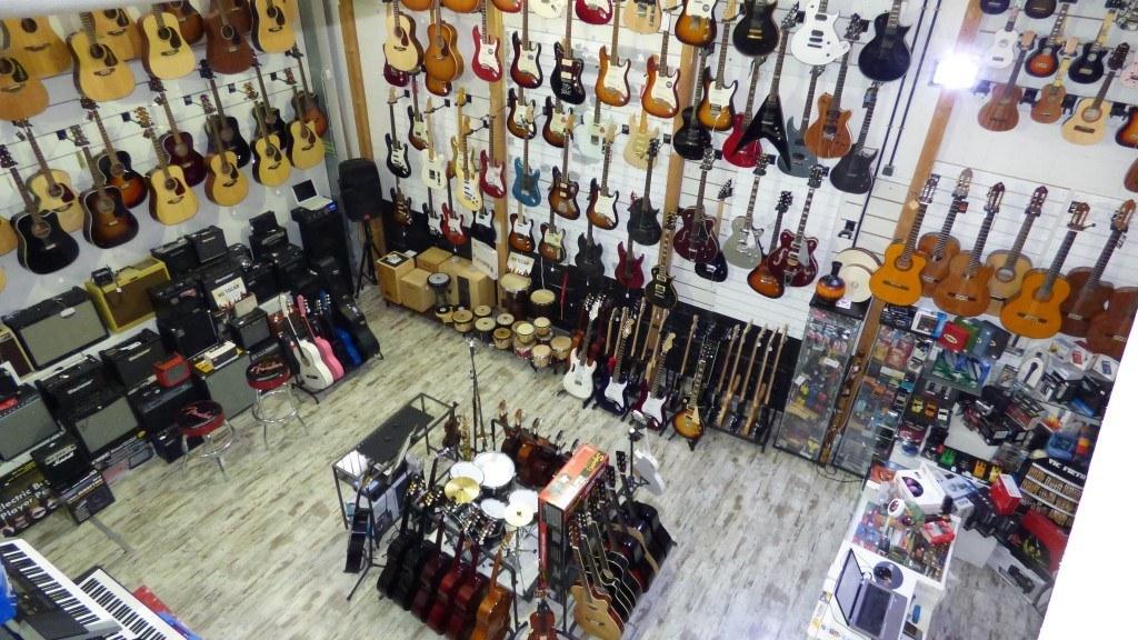 Tienda de instrumentos Musicales en San Sebastián de los reyes