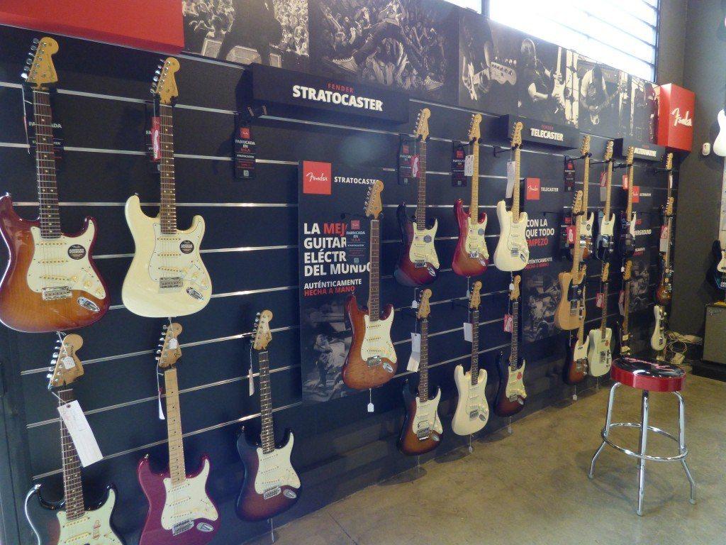 Espacio Fender Musicopolix