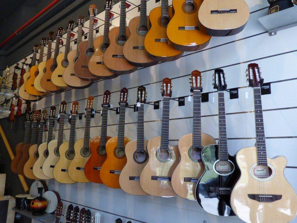 Guitarras tienda de instrumentos musicales