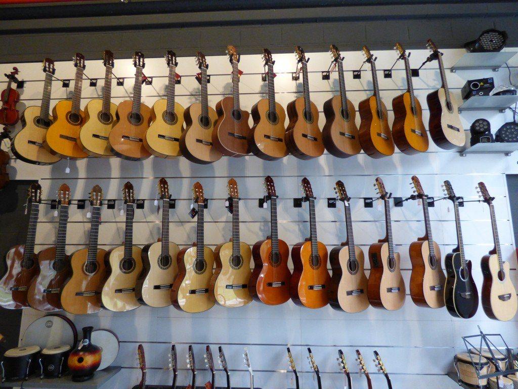Guitarras clásicas Musicopolix San Sebastián de los Reyes