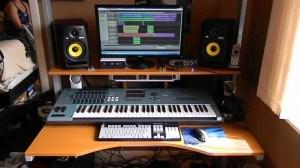 C mo hacer un home studio de manera econ mica y de calidad - Muebles para estudio de grabacion ...
