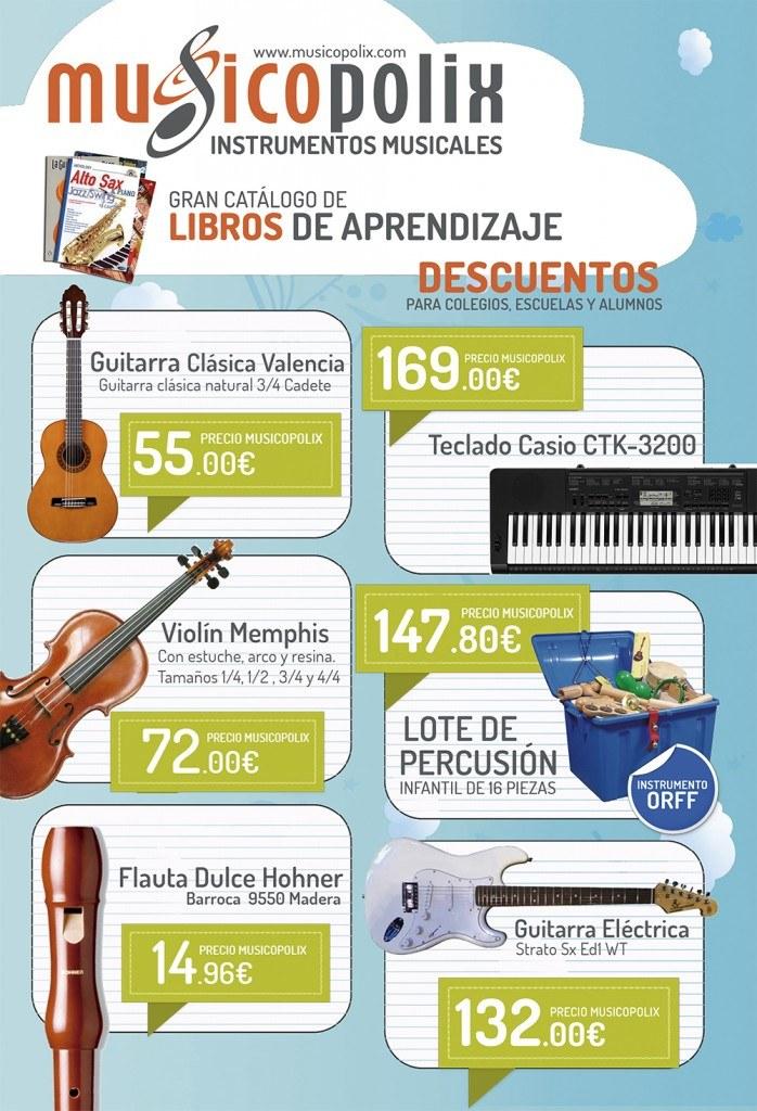 ¡Vuelta al cole! flautas dulces Hohner, Violines y Guitarras para niños…