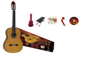 Pack de Guitarra Cadete Clasica Natural Valencia