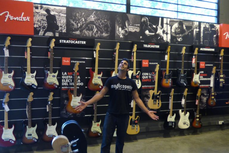 Guitarras Fender Musicopolix