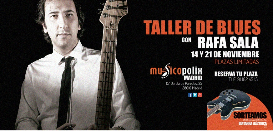 ¡¡Taller de Blues en Musicopolix Madrid!!