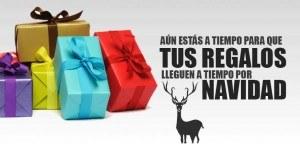 Todavía estás a tiempo de que lleguen tus regalos de Navidad