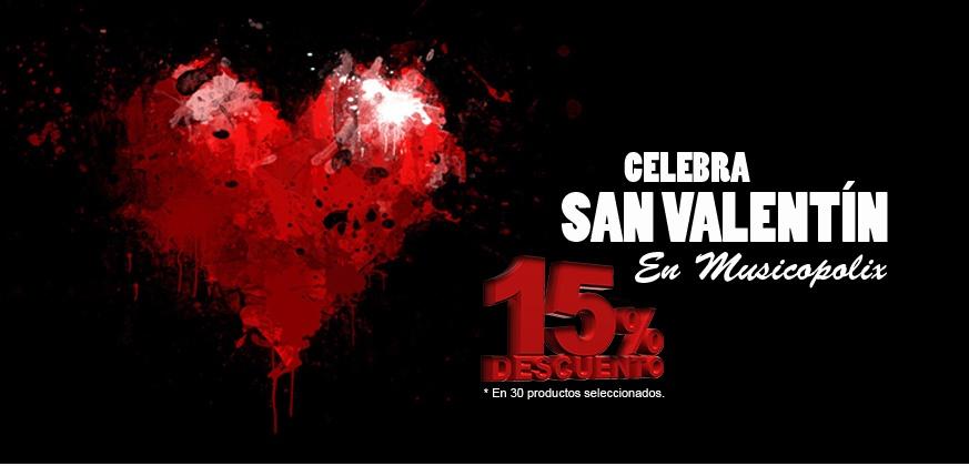 ¡Ofertas San Valentín Musicopolix! del 11 al 15 de Febrero