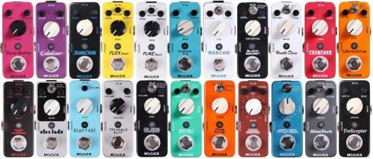 ¿Buscas pedales de guitarra? Así son los conocidos pedales Mooer