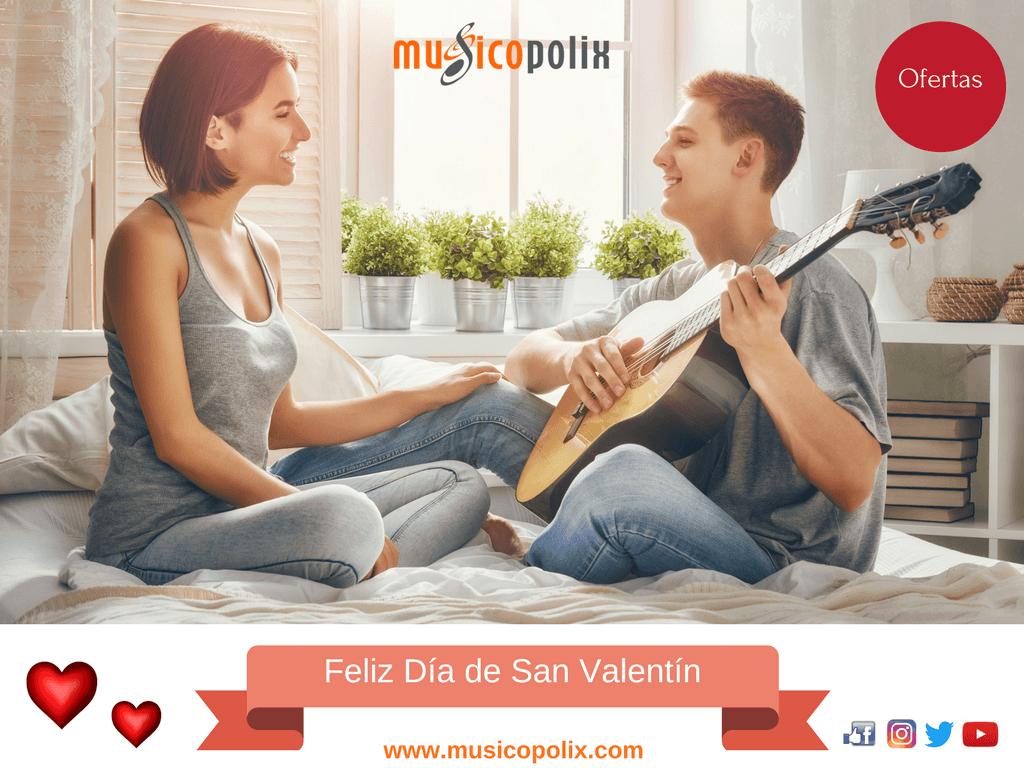 Llega San Valentín en Musicopolix