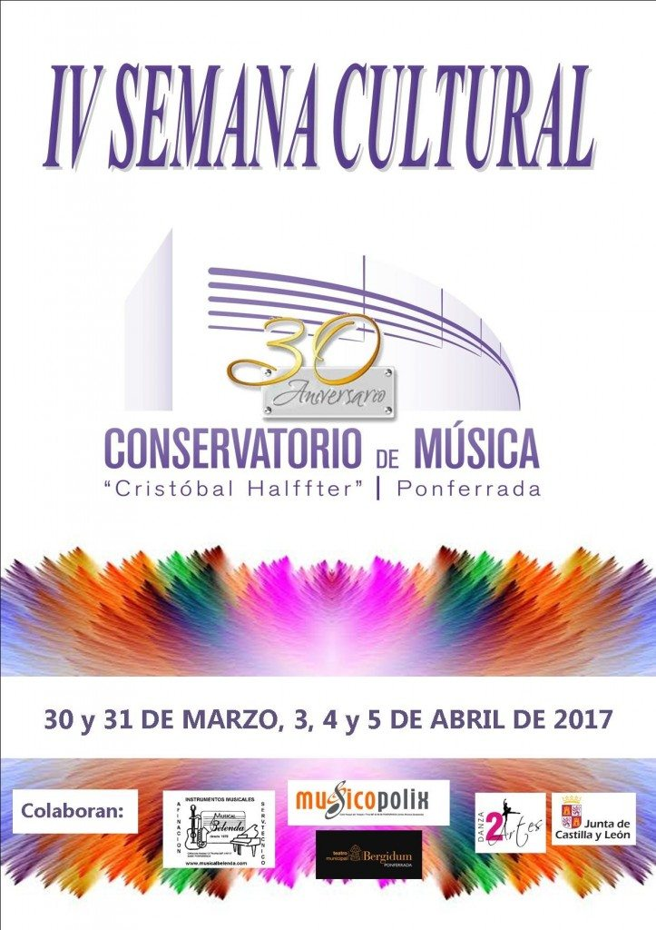 Musicopolix en la semana cultural del conservatorio de Ponferrada.