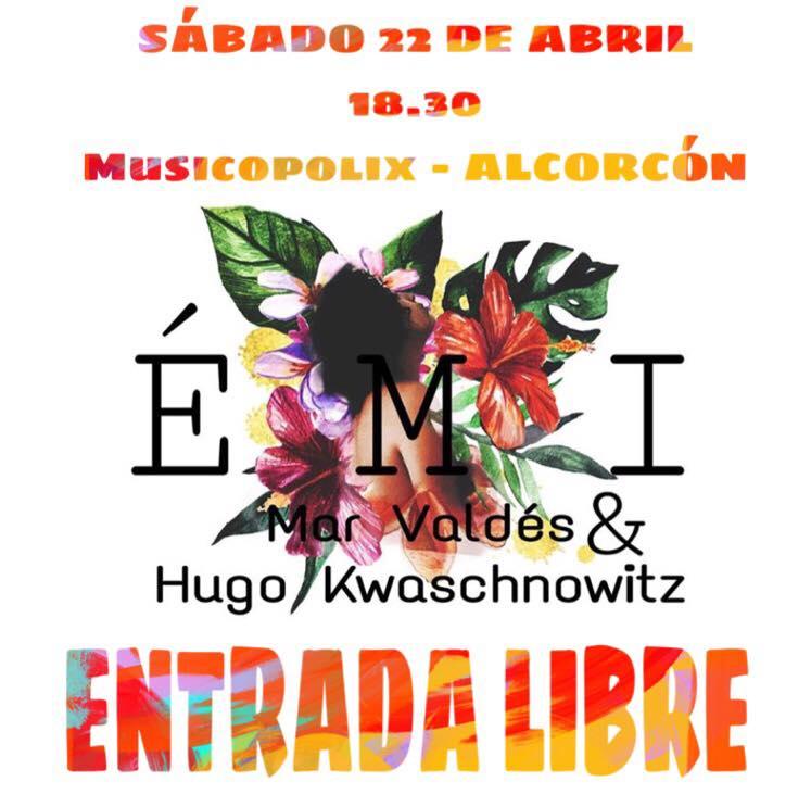 Marina Valdés y Hugo Kwaschnowitz en Musicopolix Alcorcón