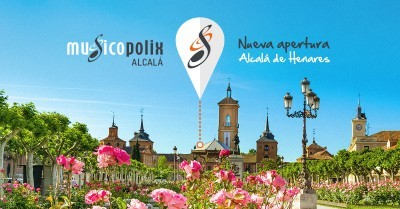 Musicopolix Center, el nuevo concepto de tienda y escuela en Alcalá de Henares