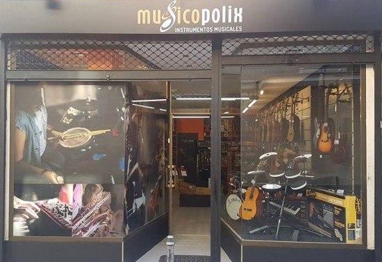 Tienda de instrumentos musicales Musicopolix Barajas