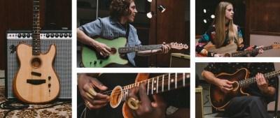 Descubre la Fender Acoustasonic Telecaster, la primera de una nueva generación de guitarras
