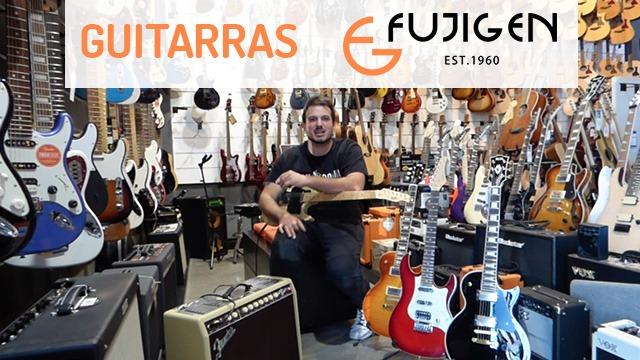 Guitarras Fujigen, la marca japonesa que ha fabricado para gigantes