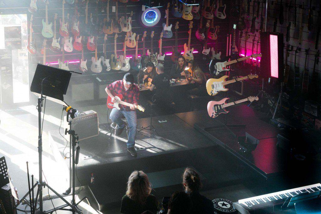 Así vivimos la presentación de Fender Nails by Musicopolix