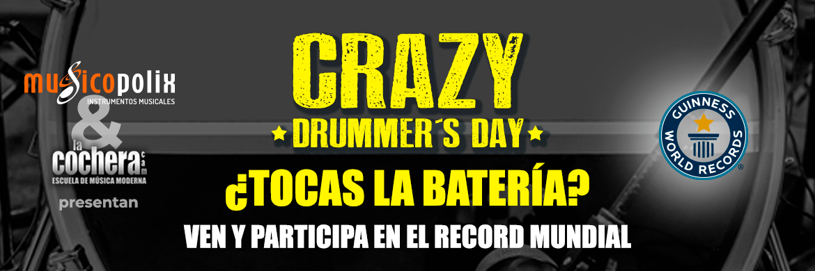 crazy drummers day 2019