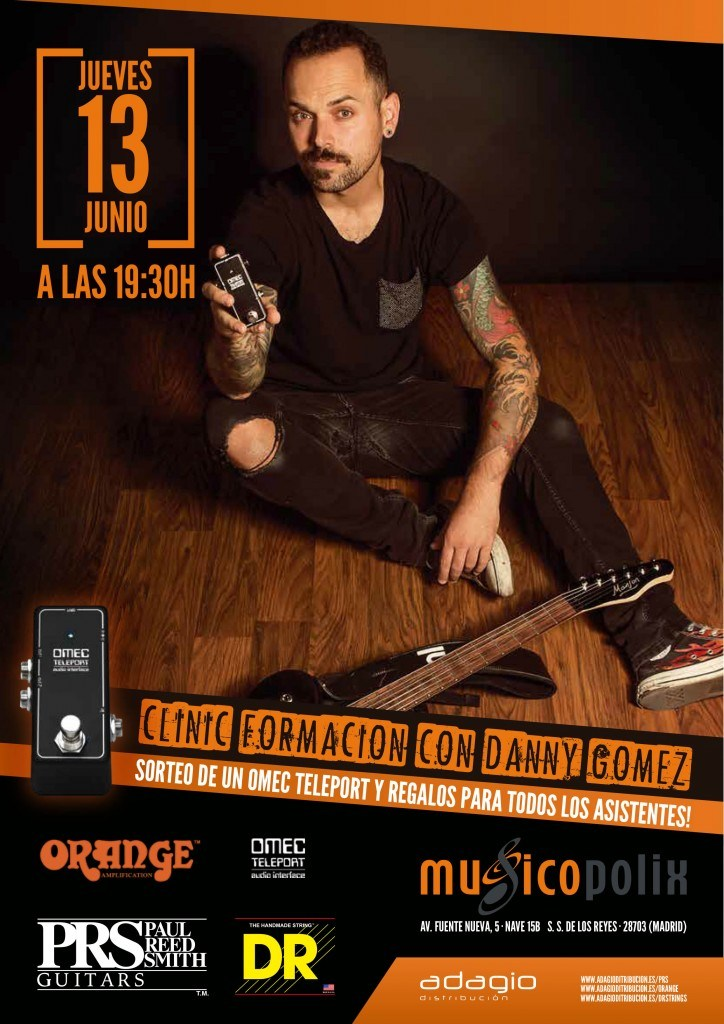 clinic prs y orange Musicopolix